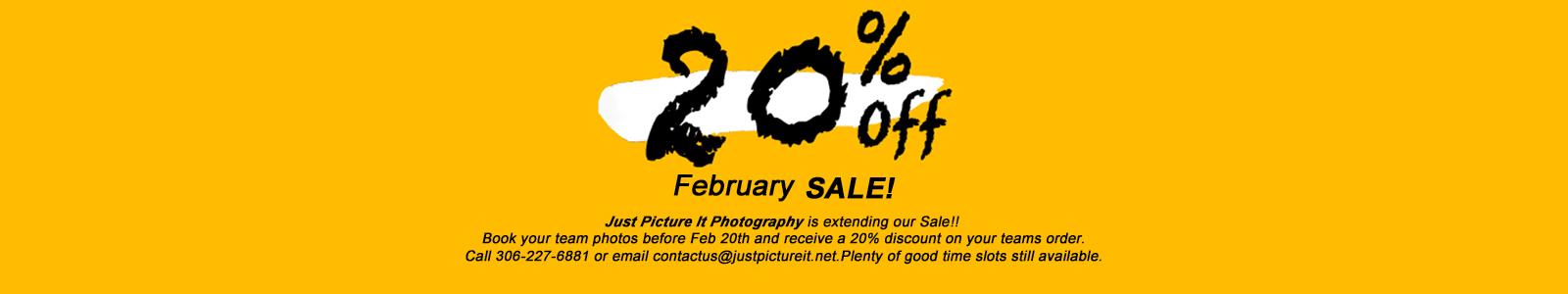 February Sale!